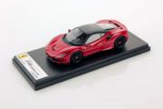 Ferrari F8 Tributo Rouge Course Toit Noir Tributo Rouge Course Toit Noir 1/43