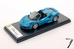 Ferrari F8 Spider Bleu Course Spider Bleu Course 1/43