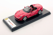 Ferrari 812 GTS cabriolet Rouge 70eme Anniversaire GTS cabriolet Rouge 70eme Anniversaire 1/43