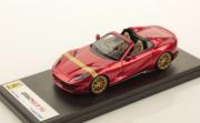 Ferrari 812 GTS Rouge Feu - bande or GTS Rouge Feu - bande or 1/43