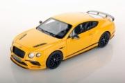 Bentley Continental Supersports jaune Monaco métallisé Supersports jaune Monaco métallisé 1/43