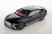 Bentley . GT noir Onyx métallisé 1/43