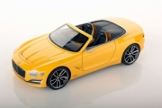 Bentley . Speed 6e cabriolet jaune Monaco 1/43