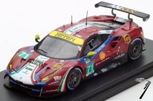 Ferrari 488 #71 21ème 24H du Mans - 5ème LM GTE Pro  1/43