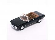 Chevrolet . Monza cabriolet noir 1/43