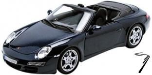 Porsche 911 Carrera S cabriolet Carrera S Couleurs Variables 1/18