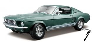 Ford Mustang Fastback couleurs variables Fastback couleurs variables 1/18