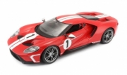 Ford GT rouge (Hommage Ford GT40 MK IV rouge (hommage Ford GT40 MKIV) 1/18
