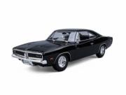 Dodge . R/T noir 1/18