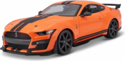 Ford Shelby Orange et Noire Orange et Noire 1/18