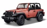 Jeep . cuivre ouverte 1/18