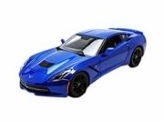 Chevrolet Corvette Stingray Z51 bleu Stingray Z51 bleu 1/18