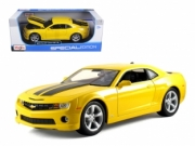 Chevrolet . SS jaune bandes noires 1/18