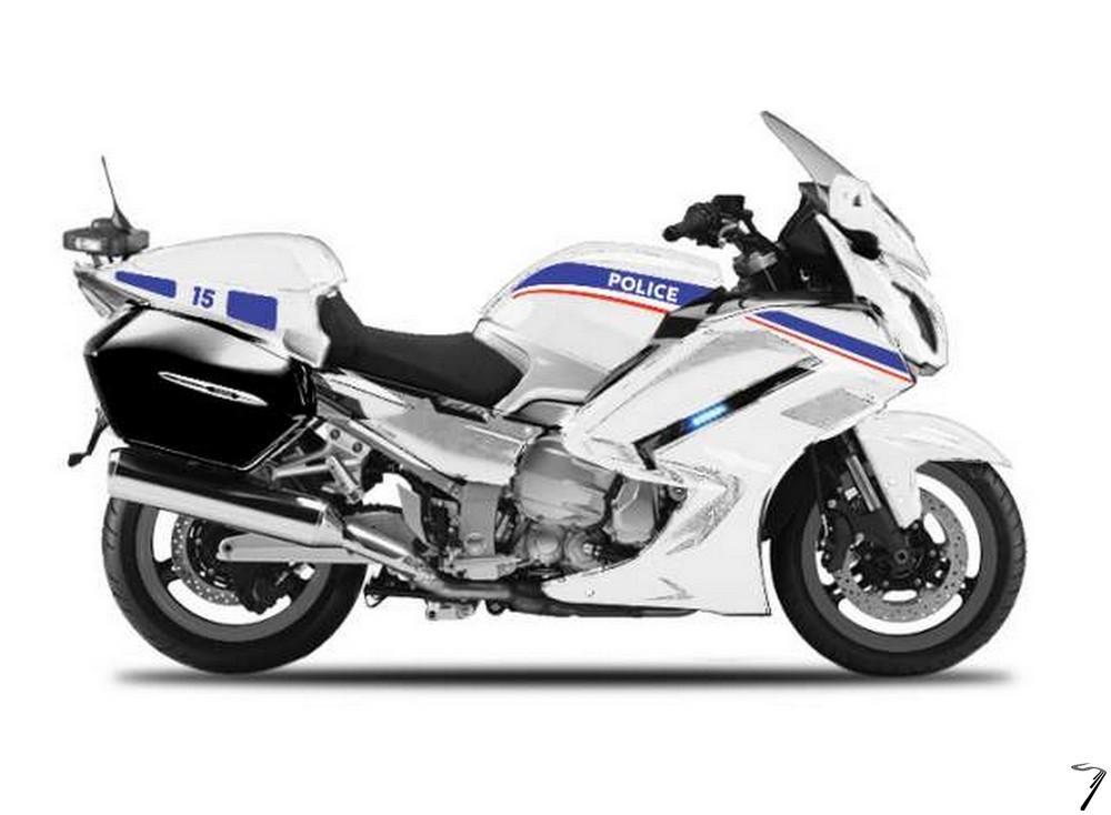 Yamaha FJR 1300A Police  1/18