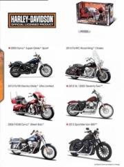 Harley Davidson Pack de 12 Harley Davidson - 6 modèles différents  1/12