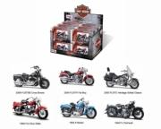 Harley Davidson Pack 12 modèles différents - modèles selon arrivages  1/18