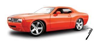 Dodge . R/T Rouge 1/18