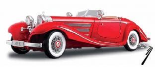 Mercedes . K cabriolet rouge 1/18