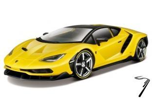 Lamborghini Centenario couleurs variables - version Premium noir couleurs variables - version Premium 1/18