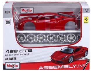 Ferrari 488 GTB - Kit à monter GTB - Kit à monter 1/24
