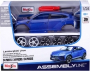Lamborghini Urus bleu - Kit à monter Bleu - Kit à monter 1/24