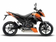 KTM 690 Duke 3 orange/noire  1/12