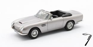 Aston Martin DB6 Volante cabriolet gris métallisé Volante cabriolet gris métallisé 1/43