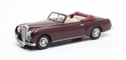 Bentley . 1 Continental Park Ward DHC cabriolet rouge 1/43