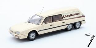 Citroen . Loadrunner modèle rallongé crème 1/43