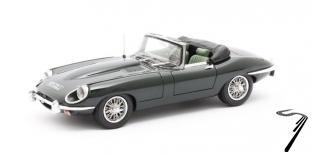 Jaguar . SII roadster cabriolet vert 1/43