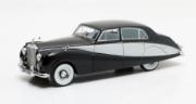 Rolls Royce . Freestone & Webb design #3206 4 portes noir/argent 1/43