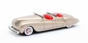 Chrysler . Dual Cowl Pheaton LeBaron doré 1/43