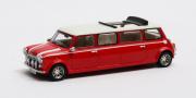 Mini . Limousine blanche - rouge 1/43