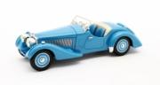 Bugatti T57 S Corsica roadster Malcolm Campbell bleu S Corsica roadster Malcolm Campbell bleu 1/43