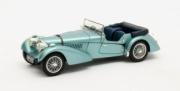 Bugatti . SC Sports Tourer Vanden Plas cabriolet turquoise 1/43