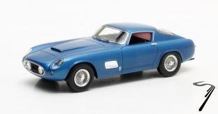 Chevrolet . Scalietti bleu métallisé 1/43