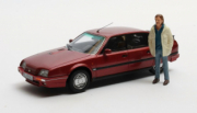 Citroen . GTi Turbo 2 + figurine Horst S. Duisburg Edition 1/43
