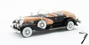Duesenberg . SJ J-562-2592 Dual Cowl Phaeton La Grande / Union City Body Co. ouverte 1/43