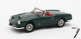 Ferrari Superamerica Pininfarina Cabriolet #1611 SA vert métal Superamerica Pininfarina Cabriolet #1611 SA vert métal 1/43