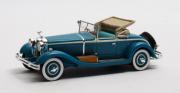 Isotta . Fraschini 8A SS Castagna Roadster Bleu 1/43