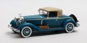 Isotta . Fraschini 8A SS Castagna Roadster fermé - Bleu 1/43