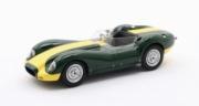 Lister . Jaguar Knobbly vert 1/43