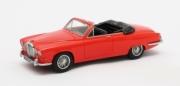 Jaguar . Harold Radford cabriolet rouge 1/43