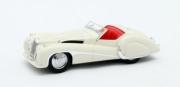 Jaguar . 100 2.5 Litre Roadster Vanden Plas Blanche 1/43