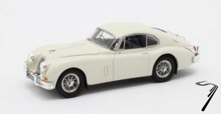 Jaguar XK150 S 3.8 Fastback by Hartin #T825146/DN blanche  S 3.8 Fastback by Hartin #T825146/DN blanche 1/43