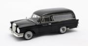 Mercedes . SE W111 Pollmann corbillard noir 1/43