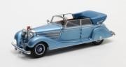 Mercedes . D W07 cabriolet Hermann Göring bleu 1/43