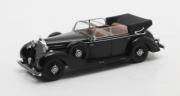 Mercedes . cabriolet noir 1/43
