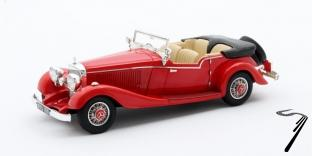 Mercedes . K 4 places Tourer Mayfair cabriolet rouge 1/43