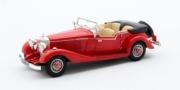 Mercedes . K 4 places Tourer Mayfair cabriolet rouge 1/43
